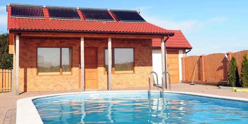Zwembadverwarming op zonne-energie